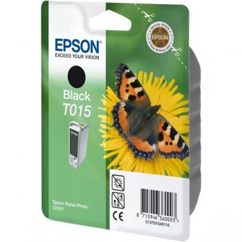Original Epson C13T01540110 / T015 Tinte Black