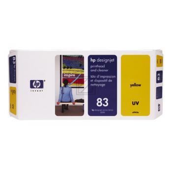 HP INC. C4963A | 83 | UV, HP INC. Druckkopf, gelb