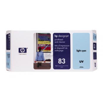HP INC. C4964A | 83 | UV, HP INC. Druckkopf, light cyan
