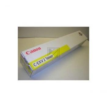Original Canon 4238A002 / C-EXV2Y Toner Gelb