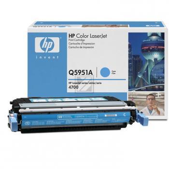 Original HP Q5951A / 643A Toner Cyan