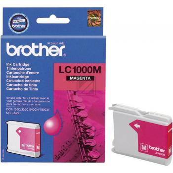 Brother Tintenpatrone magenta (LC-1000M)