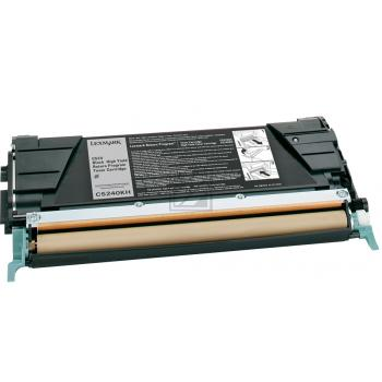 Lexmark Toner-Kartusche schwarz High-Capacity (C5240KH)