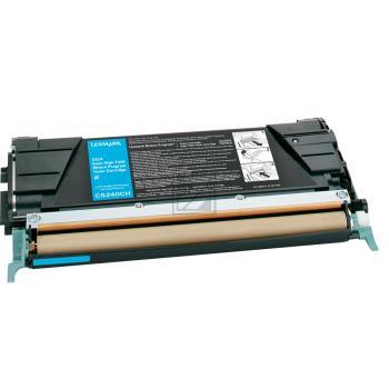 Lexmark Toner-Kartusche cyan High-Capacity (C5240CH)