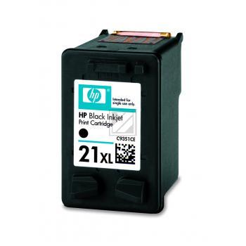 Hewlett Packard Tintendruckkopf schwarz High-Capacity (C9351CE, 21XL)