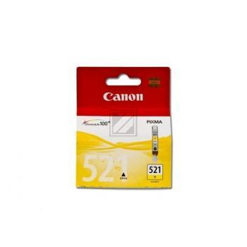 Canon Tintenpatrone gelb (2936B001, CLI-521Y)
