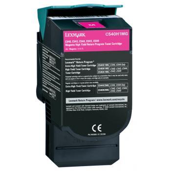 Original Lexmark C540H1MG Toner Magenta XXL