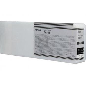 Original Epson C13T636800 / T6368 Tinte schwarz matt XXL