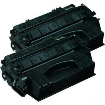 Hewlett Packard Toner-Kartusche 2x schwarz High-Capacity (Q7553XD, 53XD)