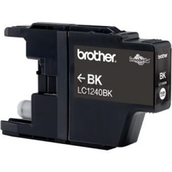 Brother Tintenpatrone 2x schwarz 2-er Pack (LC-1240BKBP2DR)