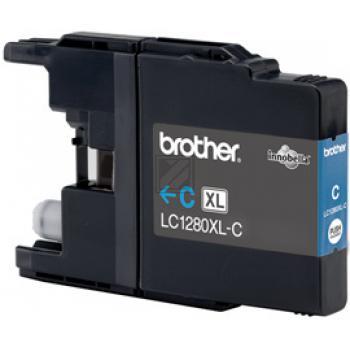 Brother Tintenpatrone Blister cyan HC (LC-1280XLC)