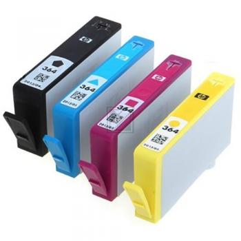 HP INC. N9J73AE   364   Combopack 4er Set, HP INC. Tintenpatronen, schwarz, cyan, magenta und gelb