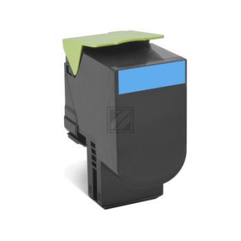 Lexmark Toner-Kit Corporate cyan HC (70C2XCE, 702XC) Qualitätsstufe: B