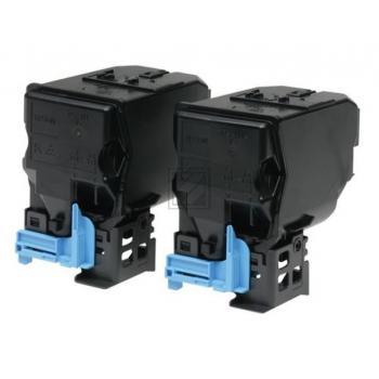 Original Epson / C13S050751 / 0751 Toner Kit Black Doppelpack