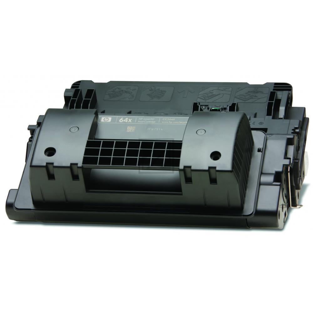 Original HP CC364X / 64X Toner Schwarz XXL
