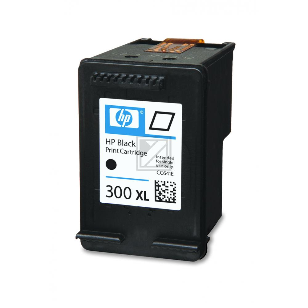 HP Tintendruckkopf schwarz HC (CC641EE, 300XL)