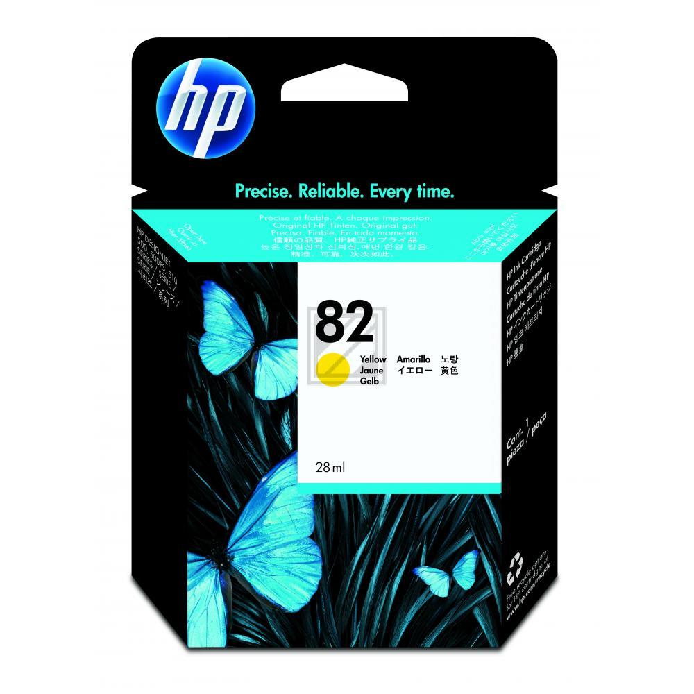 Original HP CH568A / 82 Tinte Gelb