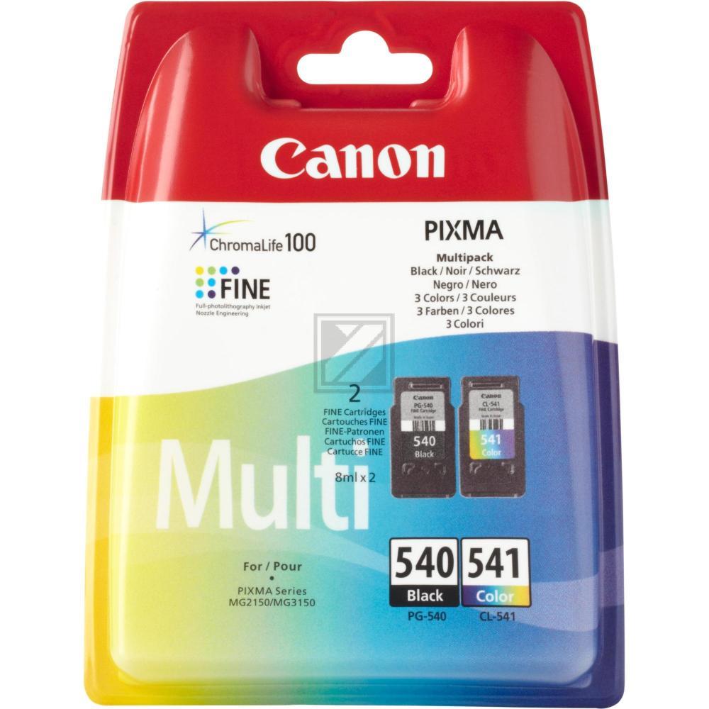 Original Canon 5225B006 / 540541 Tinte schwarz, color