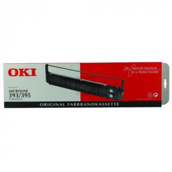 OKI 09002311, OKI Farbband, schwarz
