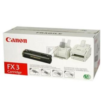 Original Canon 1557A003 / CRGFX3 Toner Schwarz