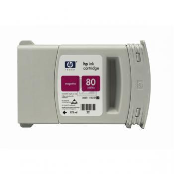 HP 80 | 350ml, HP Tintenpatrone, magenta