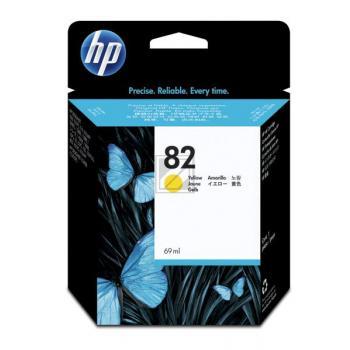 HP 82   69ml, HP Tintenpatrone, gelb