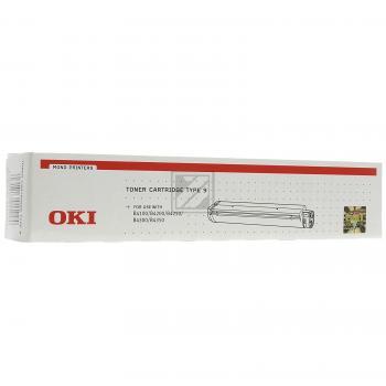 OKI Toner-Kit schwarz (01103402, TYPE-9)