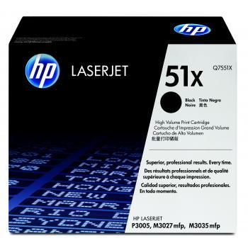 Hewlett Packard Toner-Kartusche schwarz High-Capacity (Q7551X, 51X)