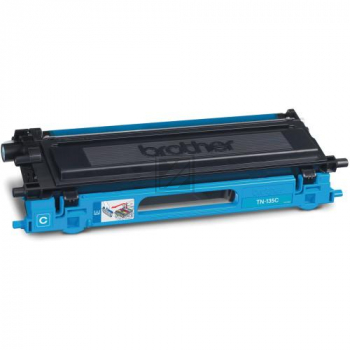 Original Brother TN-135C Toner Cyan XXL