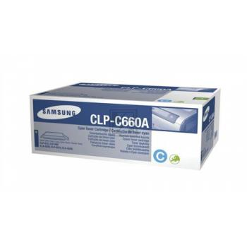 Original Samsung CLP-C660A Toner Cyan (HP ST880A)