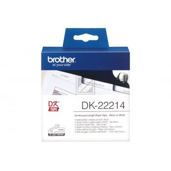 Brother Endlos-Etikett weiß (DK22214)