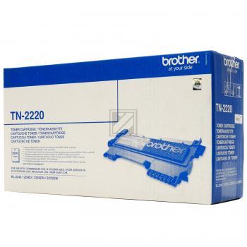 brother toner kit schwarz hc tn 2220 g nstig bestellen. Black Bedroom Furniture Sets. Home Design Ideas