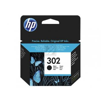 Original HP F6U66AE 302 Tinte Schwarz (Original)