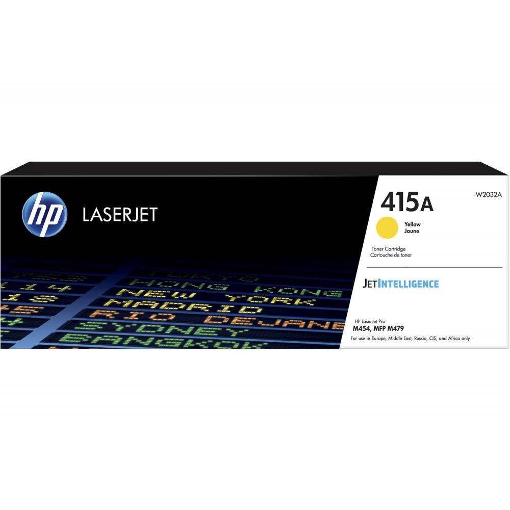 HP Toner-Kartusche JetIntelligence gelb (W2032A, 415A)