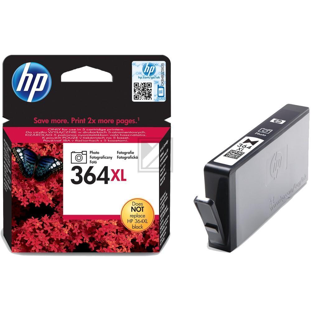 HP Tintenpatrone photo schwarz HC (CB322EE, 364XL)