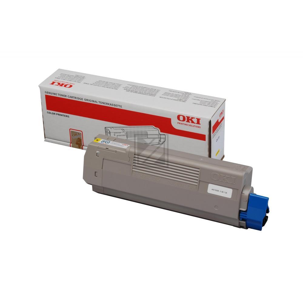 OKI Toner-Kit gelb (44315305)