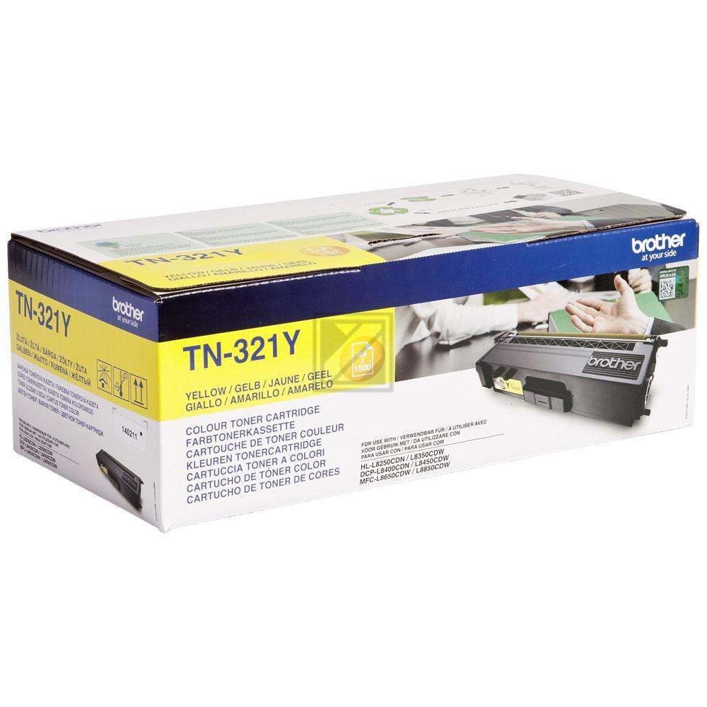Brother Toner-Kit gelb SC (TN-321Y)