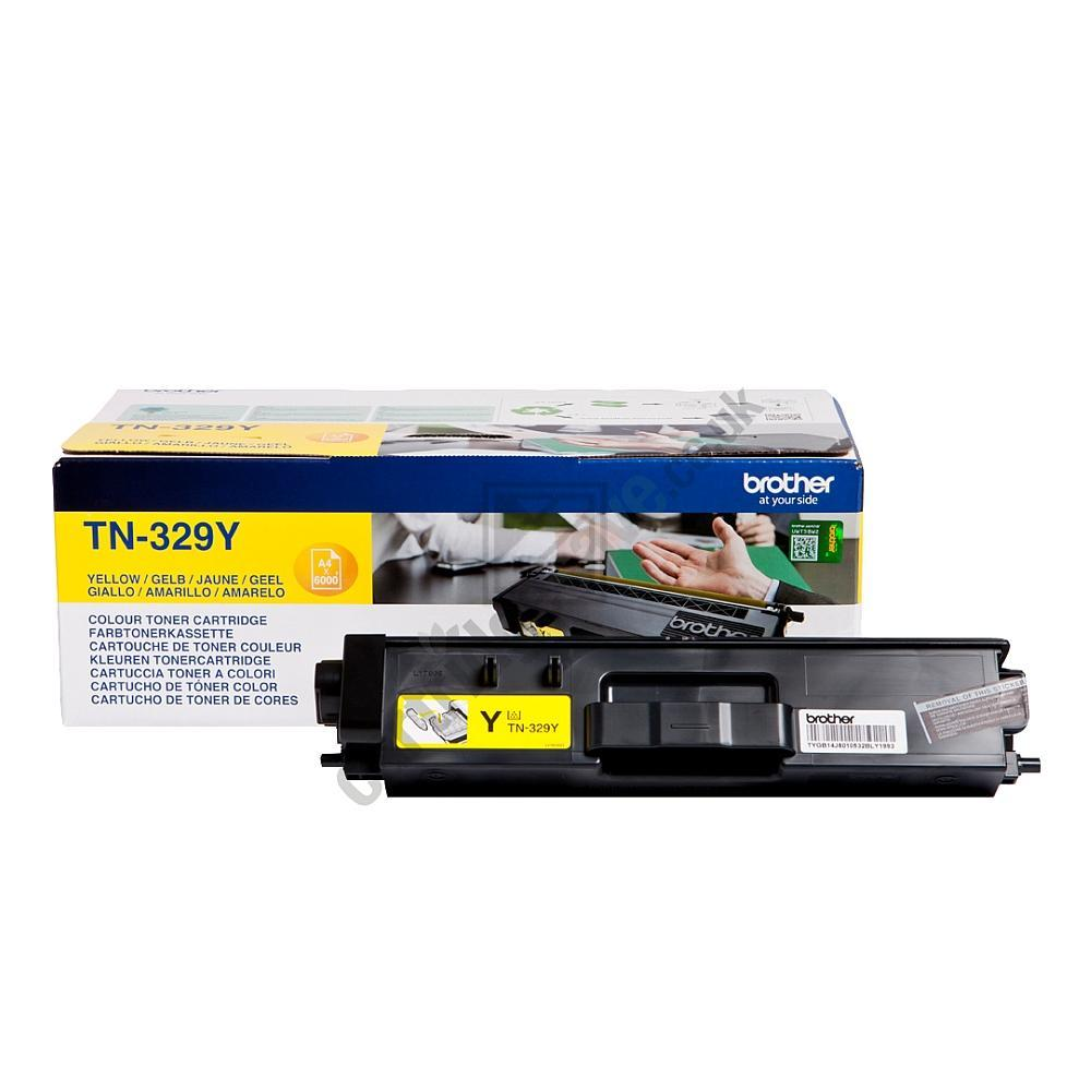 Brother Toner-Kit gelb HC plus (TN-329Y)
