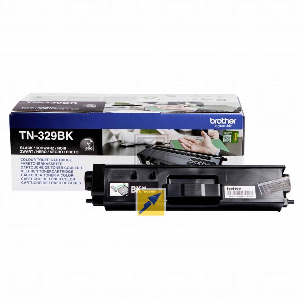 Brother Toner-Kit schwarz HC plus (TN-329BK)