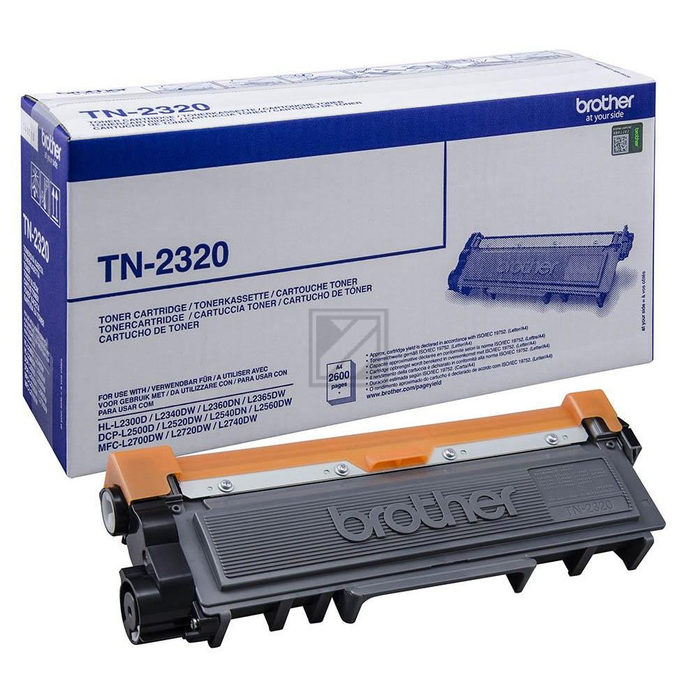 Brother Toner-Kit schwarz HC (TN-2320)
