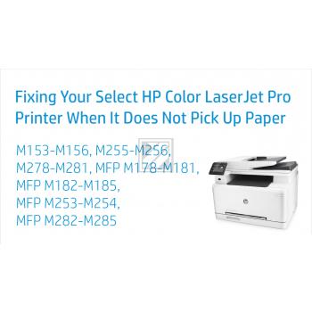 Hewlett Packard Color Laserjet Pro M 255