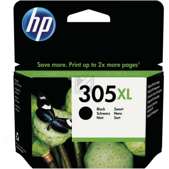 HP Tintendruckkopf schwarz HC (3YM62AE#UUS, 305XL)