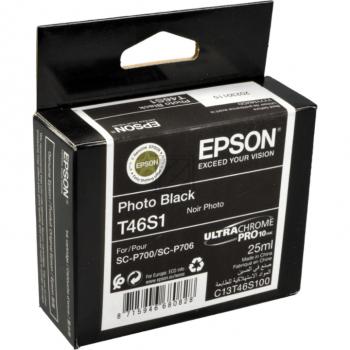 Epson Tintenpatrone photo schwarz (C13T46S100, T46S1)