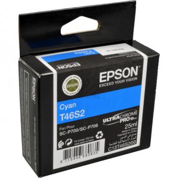 Epson Tintenpatrone cyan (C13T46S200, T46S2)