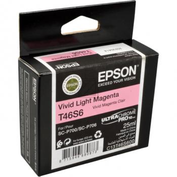 Epson Tintenpatrone magenta light (C13T46S600, T46S6)