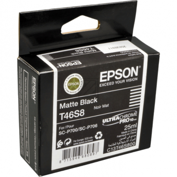Epson Tintenpatrone schwarz matt (C13T46S800, T46S8)