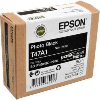 Epson Tintenpatrone photo schwarz (C13T47A100, T47A1)