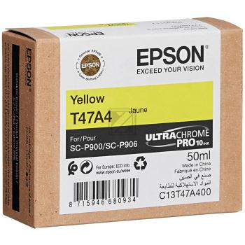 Epson Tintenpatrone gelb (C13T47A400, T47A4)