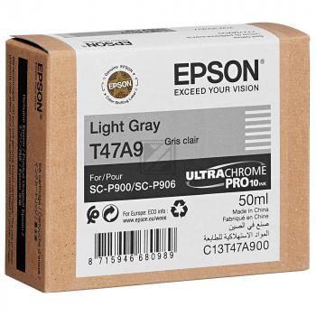 Epson Tintenpatrone hellgrau (C13T47A900, T47A9)