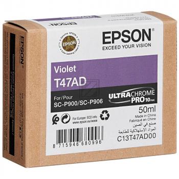 Epson Tintenpatrone lila (C13T47AD00, T47AD)